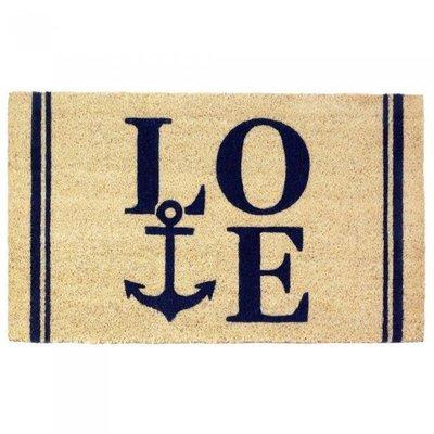 COASTAL LOVE DOORMAT by Summerfield Terrace