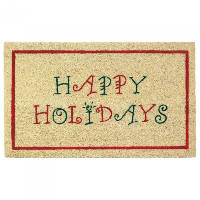 HAPPY HOLIDAYS WELCOME MAT by Christmas Collection