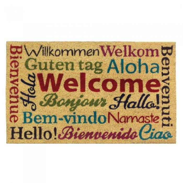 MULTI-LINGUAL WELCOME MAT by Summerfield Terrace