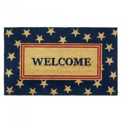 PATRIOTIC WELCOME MAT by Summerfield Terrace