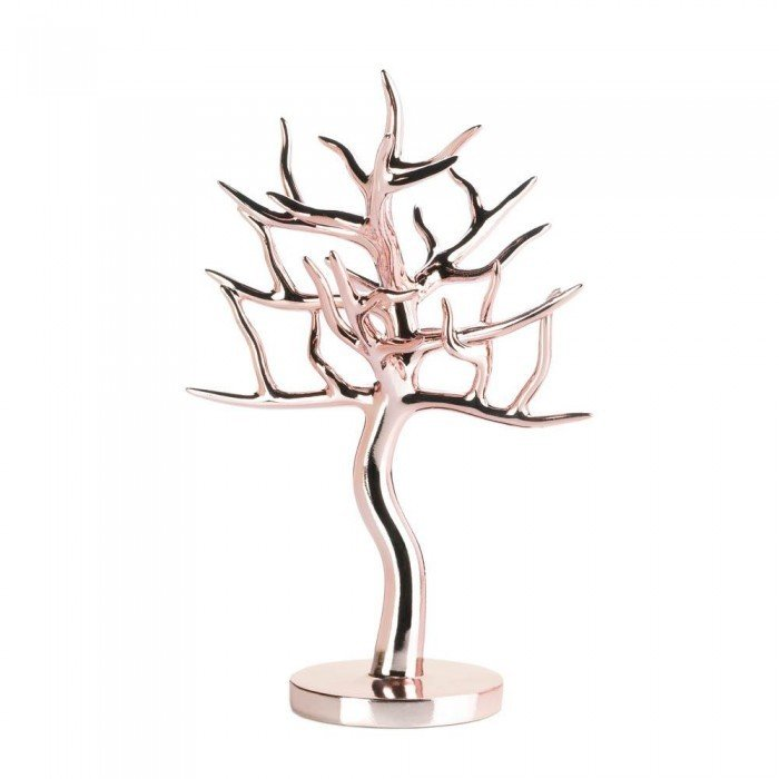 ROSE GOLD JEWELRY TREE by Accent Plus
