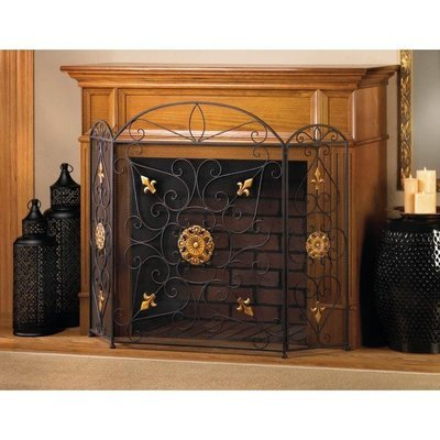 SPLENDOR FIREPLACE SCREEN by Accent Plus