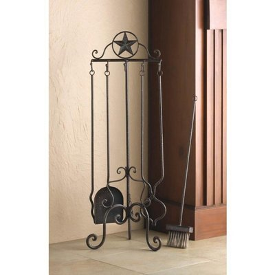 LONE STAR FIREPLACE TOOL SET by Accent Plus
