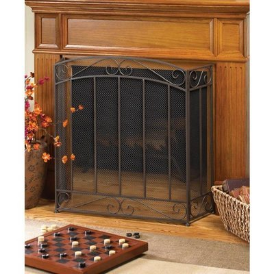 CLASSIC FIREPLACE SCREEN by Accent Plus