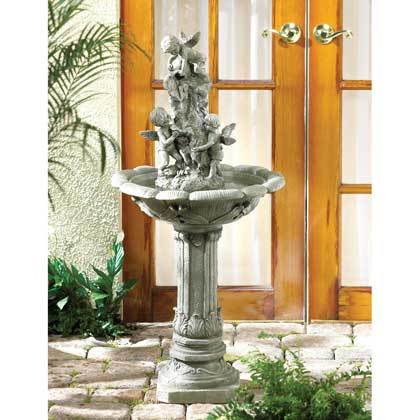 PLAYFUL CHERUBS FOUNTAIN by Cascading Fountains