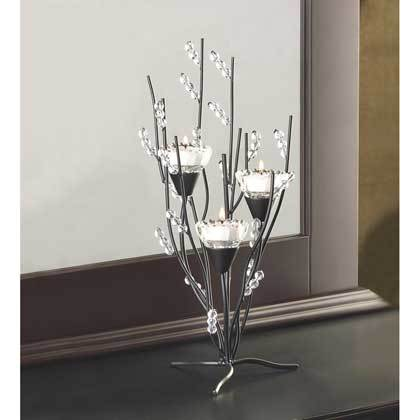 12055 Crystal Tree Tealight Holder Tree