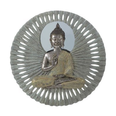 BUDDHA CIRCULAR WALL DECOR by Accent Plus