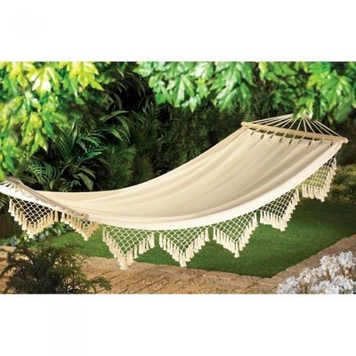 CAPE COD CANVAS HAMMOCK by Summerfield Terrace