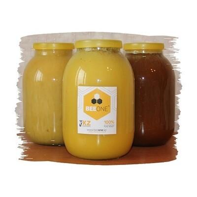 Банка мёда, 2 литра