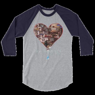 Raglan Shirt - Navy/Grey