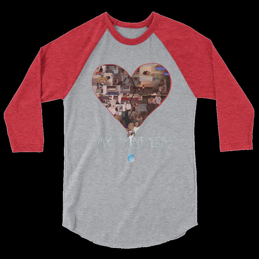 Raglan Shirt - Cardinal Red