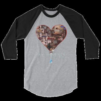 Raglan Shirt - Black/Grey