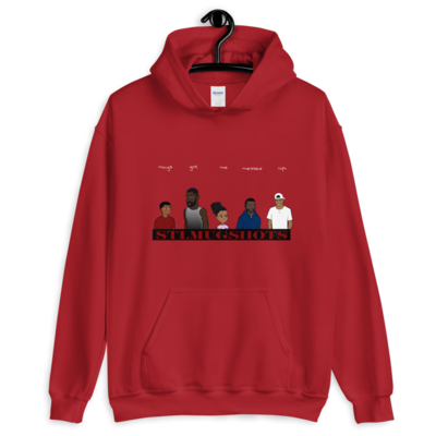 NEW! STL Mugshots Hoodie - Cardinal Red