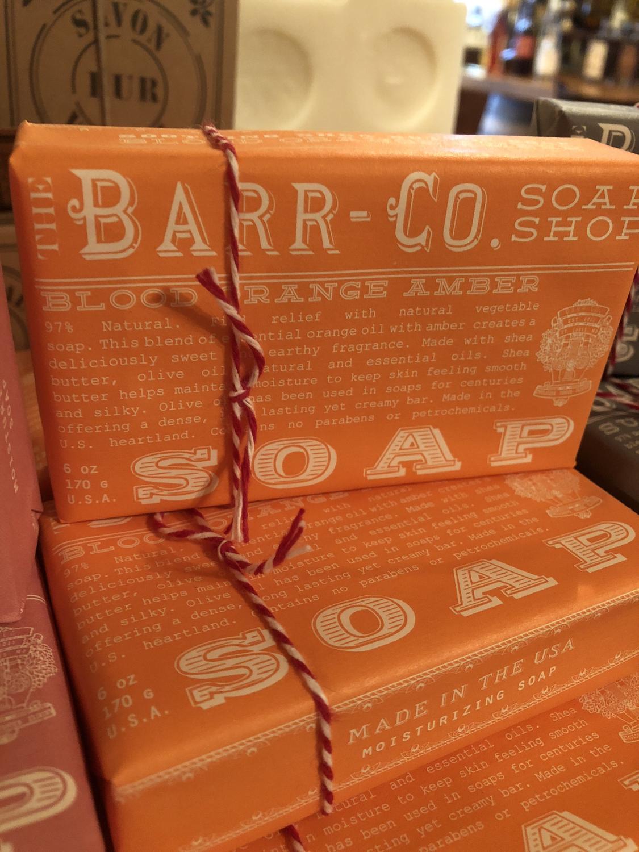 Health & Beauty Barr-co Blood Orange Amber Soap 6 Oz
