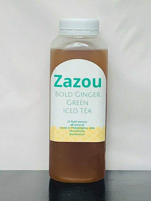 Bold Ginger Green Tea