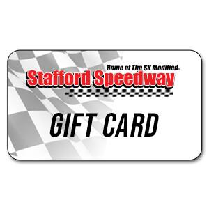 Stafford Speedway Gift Card