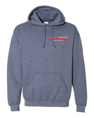 Heathered Navy Hoody