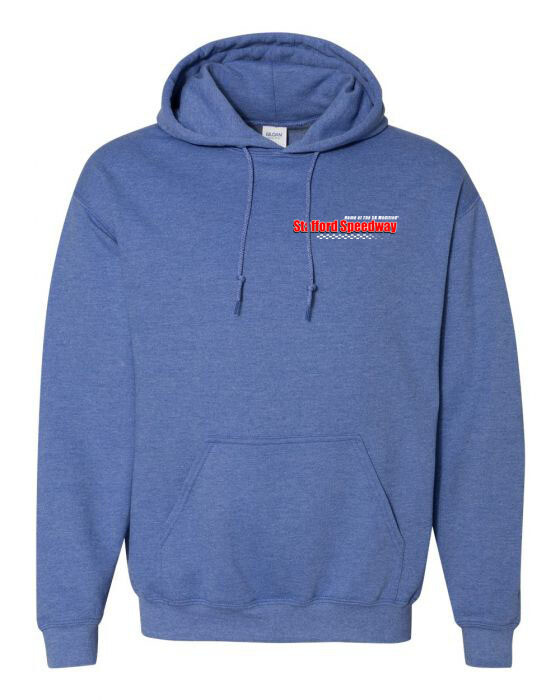 Heathered Blue Hoody