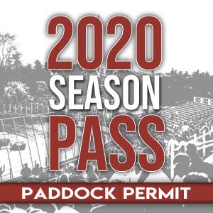 2020 Season Pass - Paddock Permit