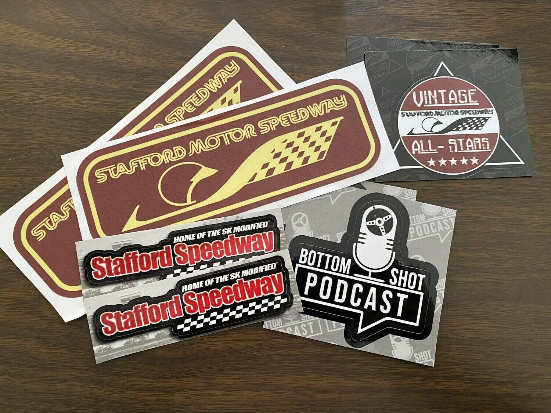 Stafford Speedway Sticker Pack