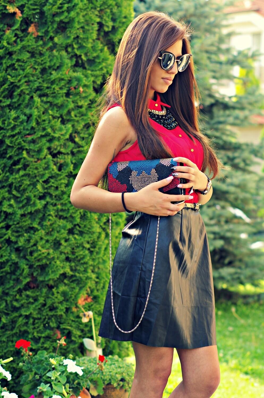 Рокля - Red & Black