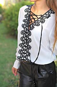 Риза - Crochet lace
