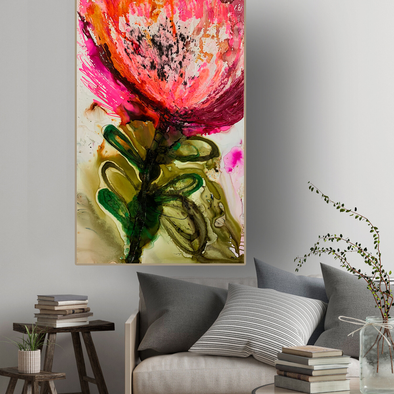 'Protea Pretty in Pink'