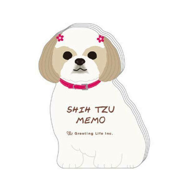 Shih Tzu Memo Pad