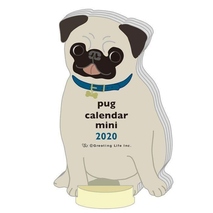Pug Mini Calendar