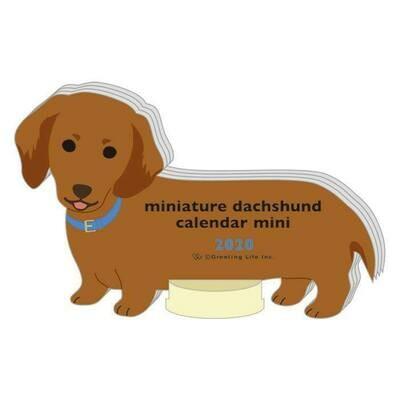 Miniature Dachshund Mini Calendar