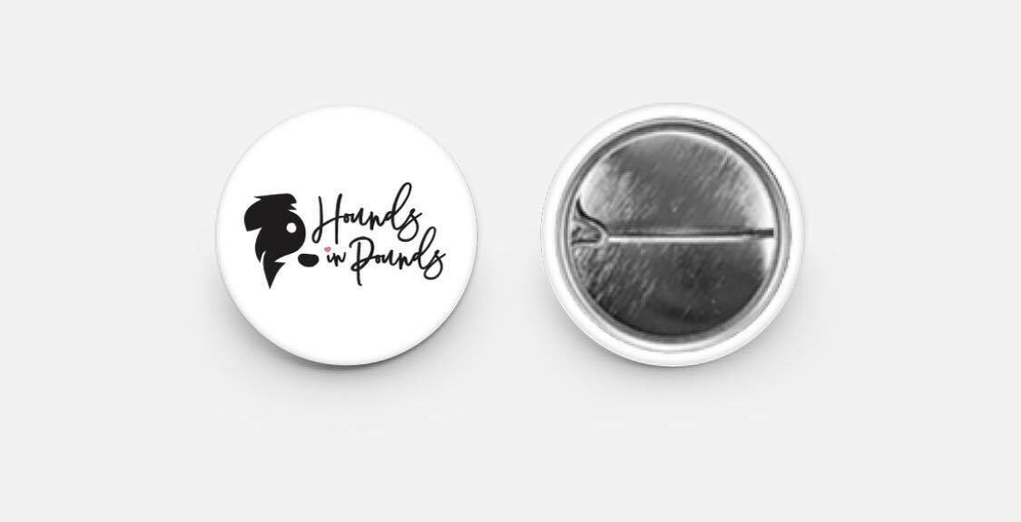 Hounds in Pounds Button