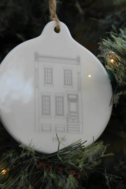 Fairmount House Ornament