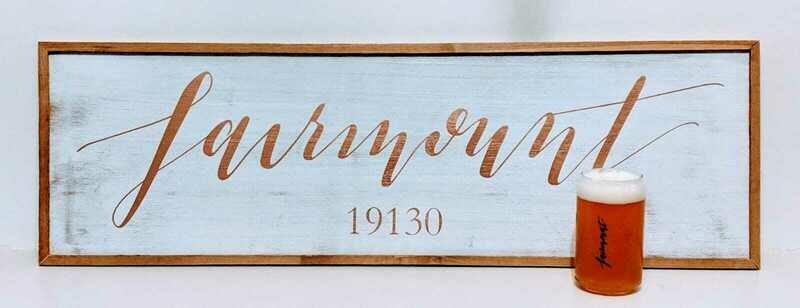 Fairmount Framed Sign