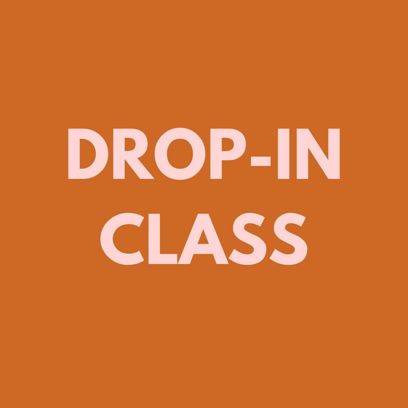 Drop-in class (C) New Writers (Wednesdays)