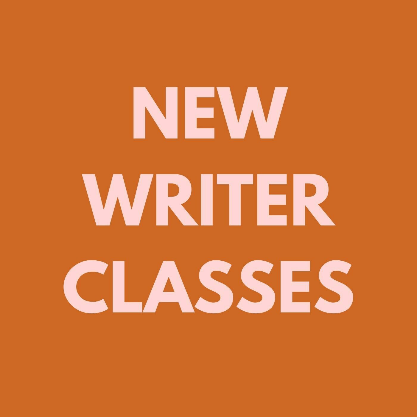 Novice Writers' Workshop - March 04, 2020