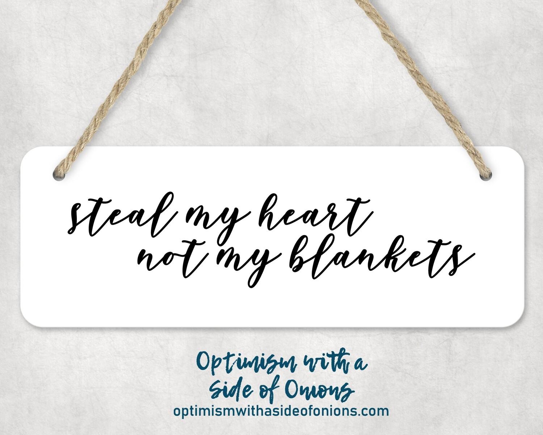"""Steal My Heart"" Wall Decor"