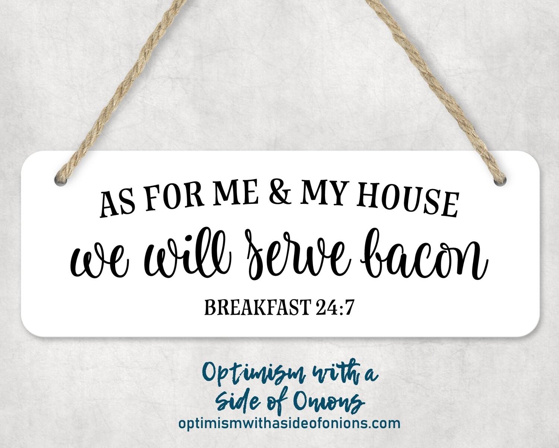 """""""Bacon"""" Wall Decor"""
