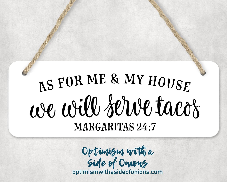 """""""Tacos"""" Wall Decor"""