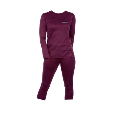 Marvellous Merino Set Women (Bordeaux)