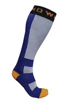 Thermal Nuclear Ski Socks - Blue