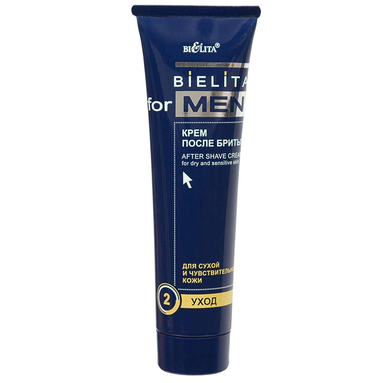 Белита | Bielita for men |  Крем после бритья для сухой и чувствительной кожи, 100 мл