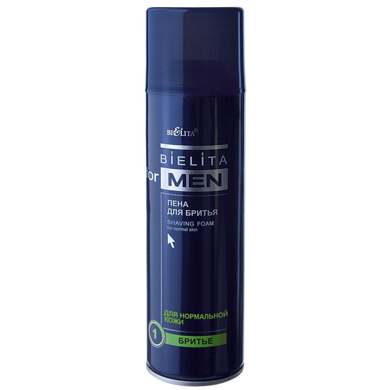 Bielita for men |  Пена для бритья для нормальной кожи (аэрозоль), 250 мл