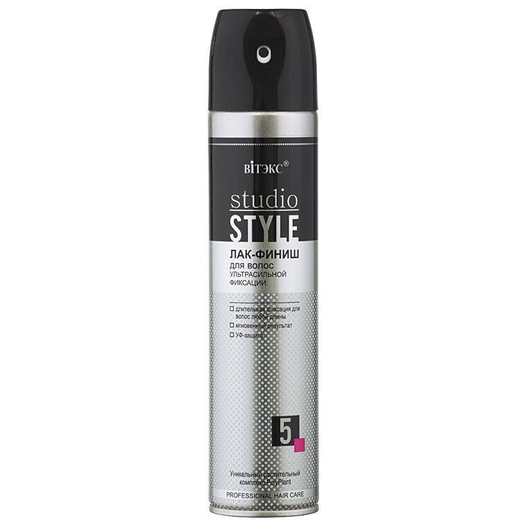 STUDIO STYLE - V | ЛАК-ФИНИШ для волос УЛЬТРАСИЛЬНОЙ фиксации (аэрозоль), 300 мл