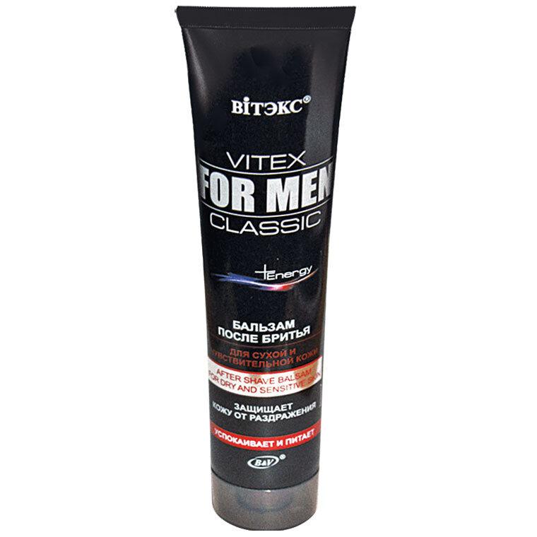 Витэкс | VITEX FOR MEN CLASSIC |  БАЛЬЗАМ после бритья для сухой и чувствительной кожи, 100 мл
