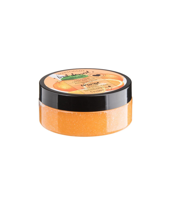 Фруктовый десерт | СКРАБ сахарный для тела Апельсиновый йогурт, 200 г | Belita-M