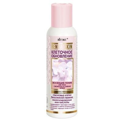 Витэкс | ReNEW Skin | ЭССЕНЦИЯ-ТОНИК для лица Свежесть и сияние кожи Эффект мягкого салонного пилинга, 150 мл