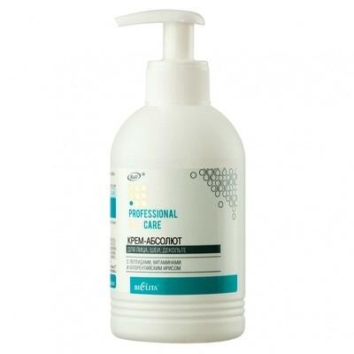 Белита   Face care   КРЕМ-АБСОЛЮТ для лица, шеи, декольте с пептидами, витаминами и флорентийским ирисом, 300 мл