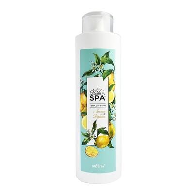 Белита   Пена для ванн Belita SPA    Пена для ванн «Лимон и Вербена», 520 мл