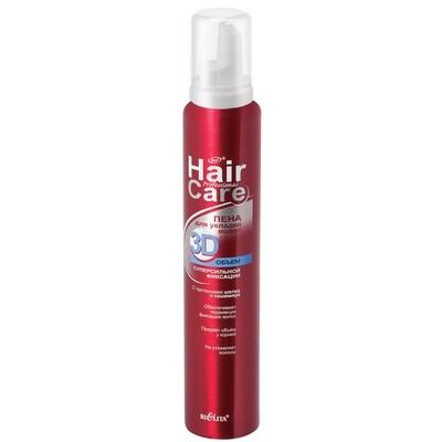 Белита | Professional Hair Care | ПЕНА для укладки волос 3D Объем суперсильной фиксации (аэрозоль), 300 мл