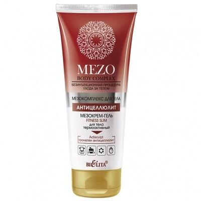 Белита | MezoBodyComplex | МезоКРЕМ-ГЕЛЬ FITNESS SLIM для тела термоактивный, 200 мл